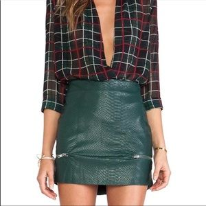 "Lover + Friends ""Good to Be Bad"" Mini Skirt SZ S"